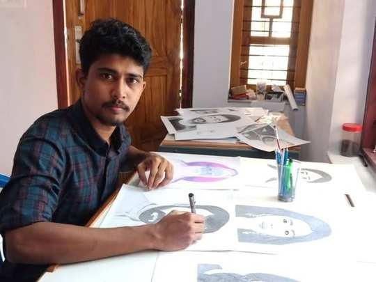 Palakkad Artist Jayakrishnan