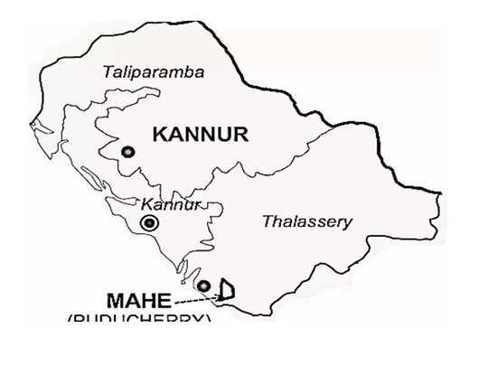Kannur Map
