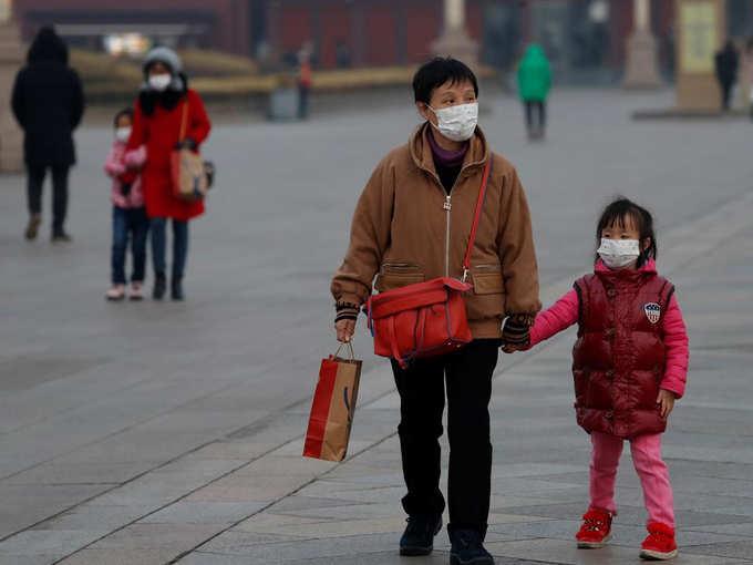 هرج و مرج تاج در چین