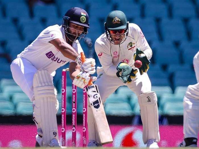 Rishabh Pant in Sydney Test Match 2021