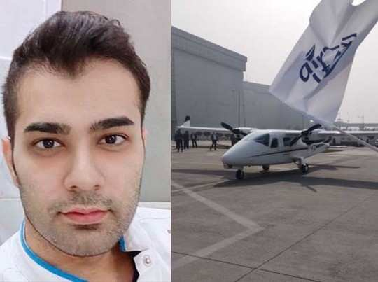 know about captain varun suhag who starts first air taxi of india from hisar