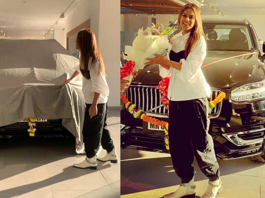 nia sharma purchased a brand new volvo car worth around rs 80 lakh