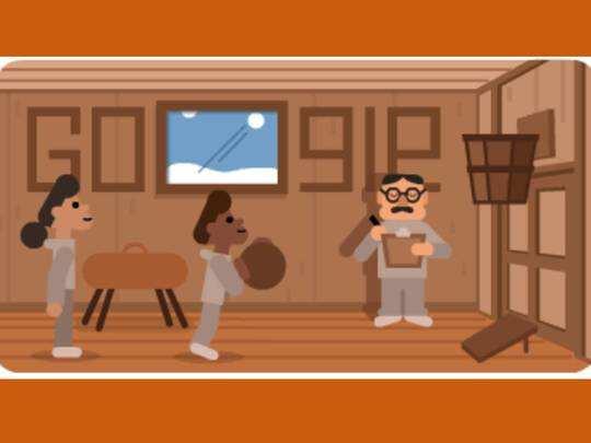 James Naismith Google Doodle: गूगल ने डूडल के जरिए किया बास्केटबॉल के आविष्कारक डॉ जेम्स नाइस्मिथ को सम्मानित