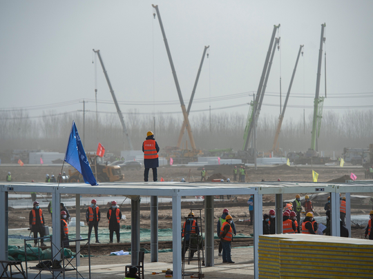 China is building emergency COVID centres