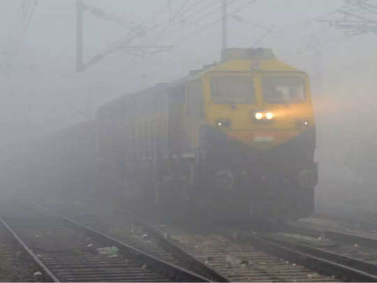 dense fog in north india affected many trains, see full list of delayed, diverted and cancel trains