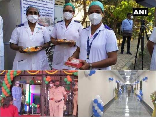 corona vaccination drive in india: check photos how india is welcoming covid vaccine