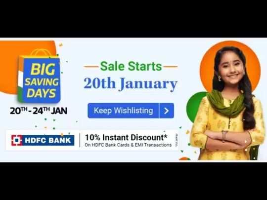 big saving days sale