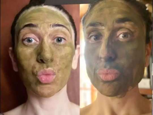 karishma kapoor kareena kapoor soha ali beauty secrets how to make matcha face pack in marathi