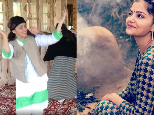 bigg boss 14 contestant rubina dilaik and her sister jyotika village life video and photos
