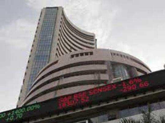 शेयर बाजार में सोमवार को लगातार दूसरे सत्र में गिरावट देखने को मिली।