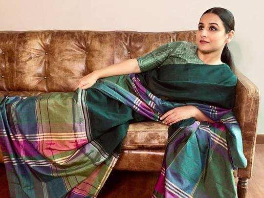 from kanjivaram black silk to banarsi silk vidya balan looks drop dead gorgeous in these sarees