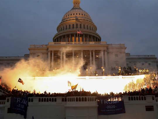 अमेरिकी संसद की इमारत पर 6 जनवरी को हुई थी हिंसा