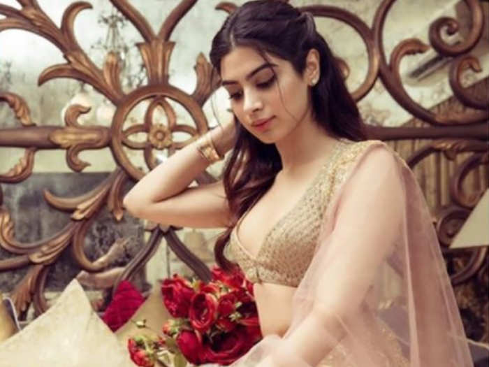 Khushi will be making her Bollywood debut soon