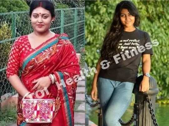 indian weight loss success story woman lost 18 kilos in 7 months by doing suryanamaskar and squats