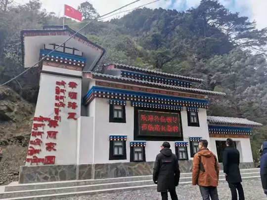 china made modern village in arunachal pradesh india after defeat in doklam see pictures