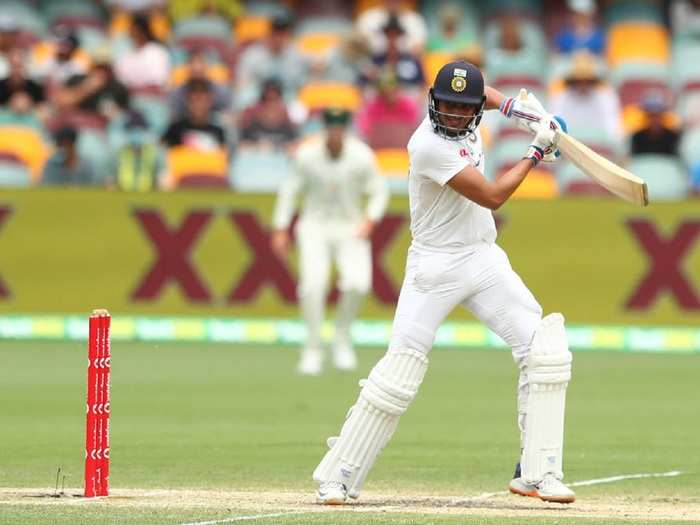 Shubhman Gill in Gabba Test