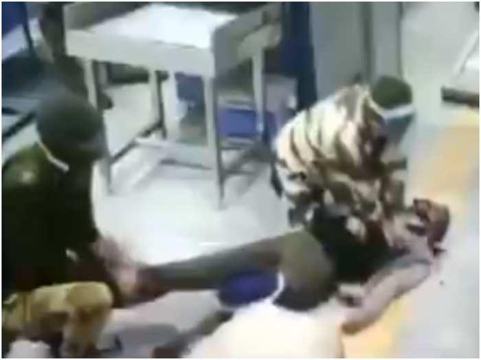 delhi metro station cisf jawan saves man life