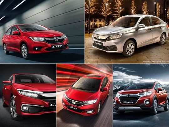 honda amaze wr-v city jazz civic getting discount offer up to rs 2.5 lakh