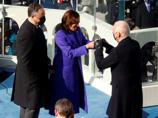 photos from us president joe biden inauguration ceremony