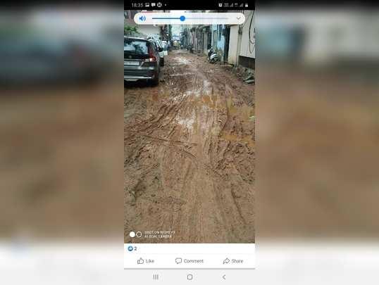 Sector 10 ki behad kharab roads