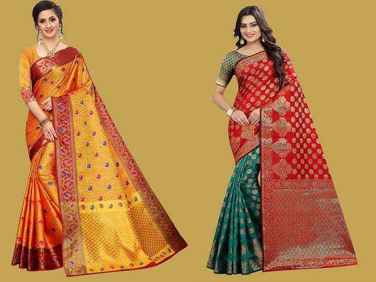 Saree On Amazon : इन खास और कीमती Saree पर मिल रही 80% की छूट, सिल्क से लेकर कांचीपुरम Saree भी उपलब्ध
