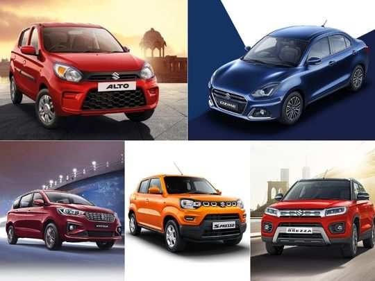 maruti suzuki alto s-presso celerio wagonr swift dzire brezza eeco ertiga super carry read new price list