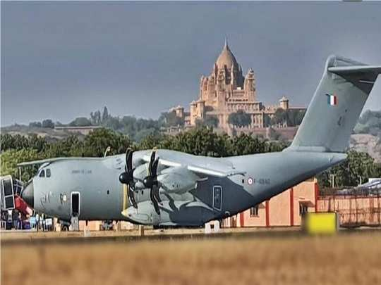 indo- french maneuver desert knight in jodhpur, raffle joins in this exercise first time