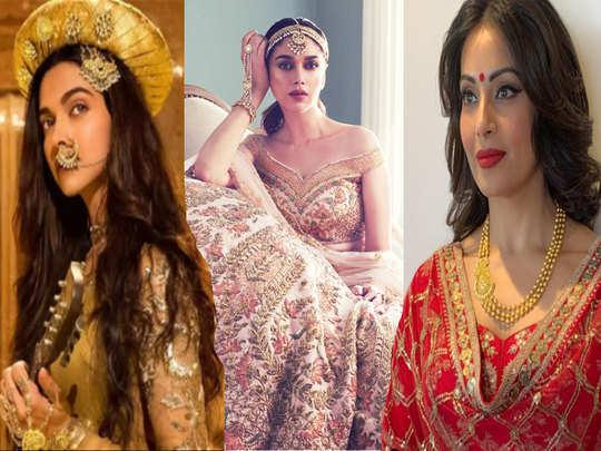 aishwarya rai deepika padukone aditi rao hydari to bipasha basu bollywood actress looks exquisite in royal getup