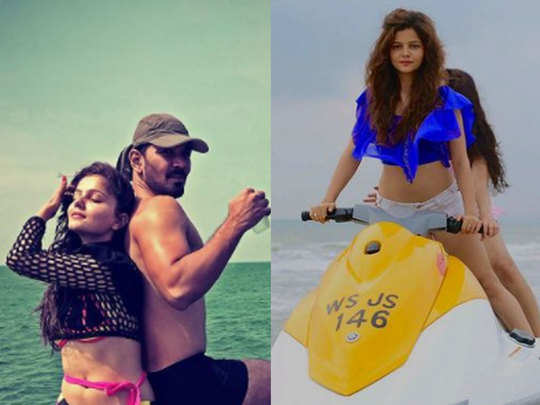 bigg boss 14 contestants rubina dilaik stunning beautiful photos with abhinav shukla