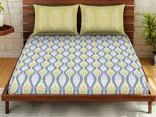 Bedsheet On Amazon : लाजवाब प्रिंट के साथ कम कीमत में मिल रही हैं ये Bedsheets With Pillow Cover, आज ही करें ऑर्डर