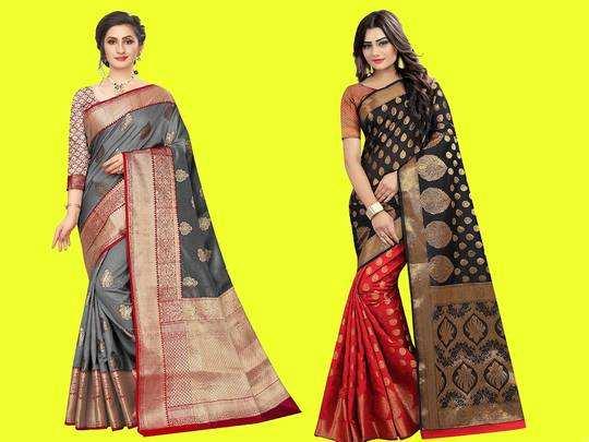 Silk Saree On Amazon : 6,999 रुपए की Saree खरीदें मात्र 1,100 रुपए में, आज मिल रही है खास छूट