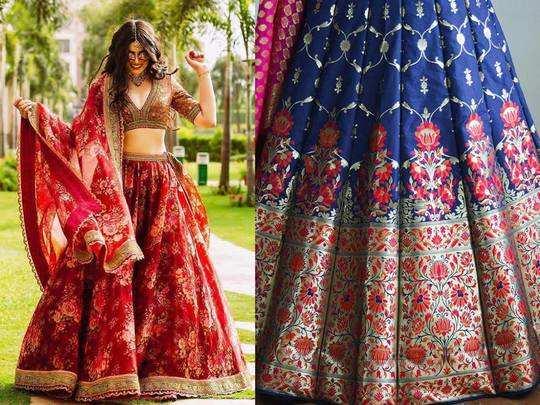 Heavy Wedding Lehenga : खूबसूरत और लेटेस्ट डिजाइनर Lehenga को इतनी कम कीमत में जल्दी करें ऑर्डर
