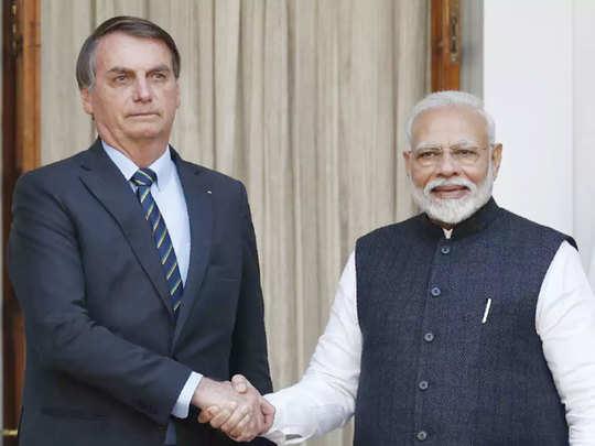 Brazil President thanks India