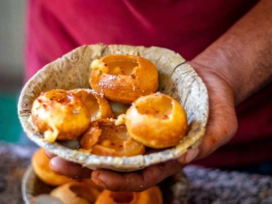 here is how panipuri or golgappe can help you lose weight