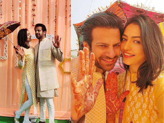 pavitra rishta actor karanveer mehra to tie knot with girlfriend nidhi on 24 jan watch mehendi ceremony inside pics