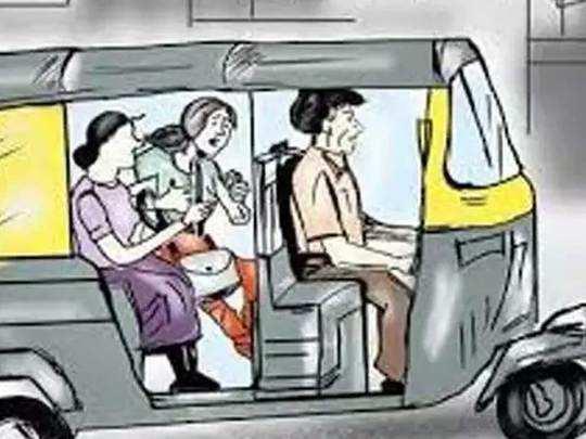 Pune: महिला रिक्षामधून प्रवास करत होती, काही अंतरावरच...