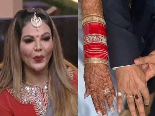 bigg boss 14 rakhi sawant reveals she married ritesh as a powerful man threatened to abduct her