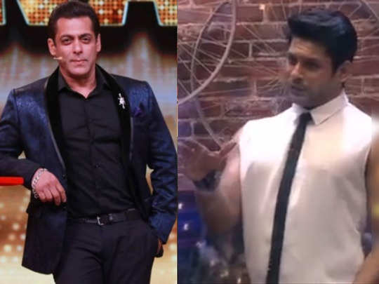 sidharth hosts bigg boss 14 in salman absence