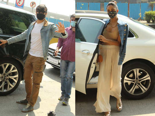 sidharth malhotra and kiara advani step out for family lunch