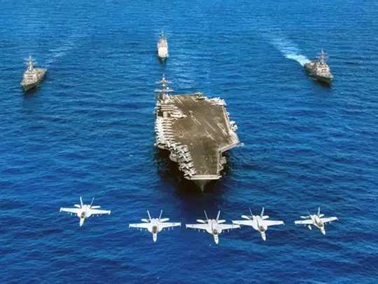 us aircraft carrier group led by uss theodore roosevelt enters south china sea amid taiwan tensions