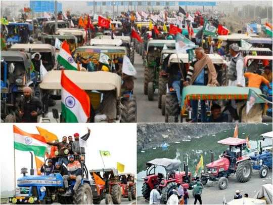 farmers tractor rally on republic day in delhi route map and security arrangements details