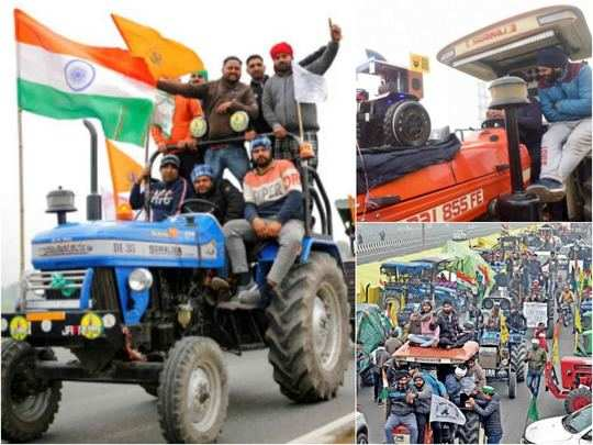 kisan tractor march on 26 january republic day live news updates images and videos