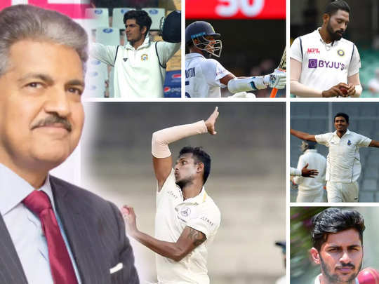 आनंद महिंद्रा आणि भारतीय खेळाडू