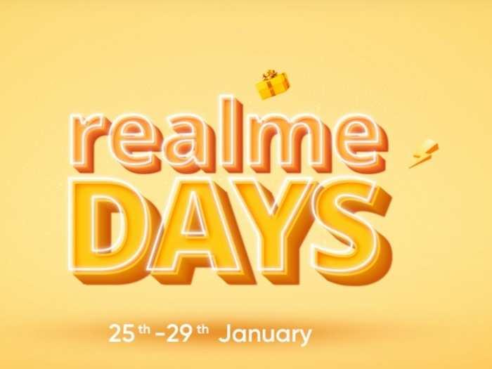 Realme Days Sale