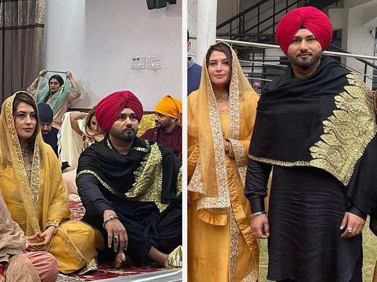 Yo Yo Honey Singh with wife Shalini