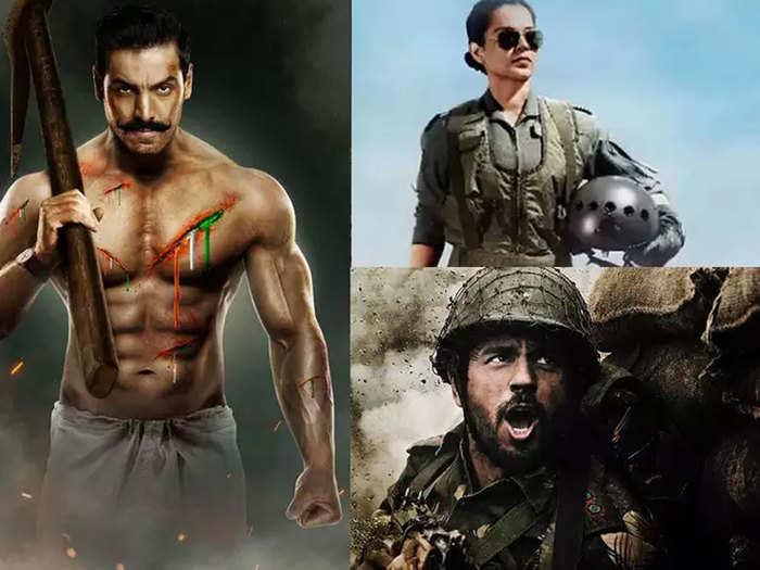 kangana ranaut tejas to john abraham satyameva jayate 2 upcoming bollywood patriotic films
