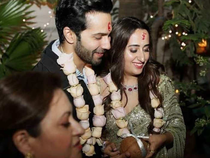 now varun dhawan and natasha dalal roka ceremony pictures are viral on social media