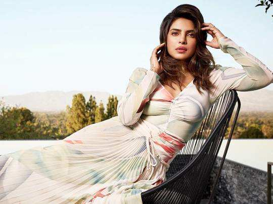 priyanka chopra jonas look drop down gorgeous for marie claire february edition