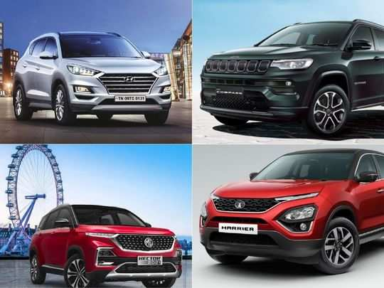 2021 jeep compass vs hyundai tucson vs mg hector vs tata harrier