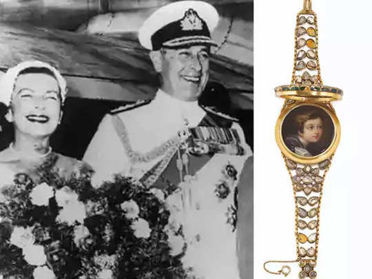 lord mountbatten edwina india burma treasure trove to be auctioned in uk